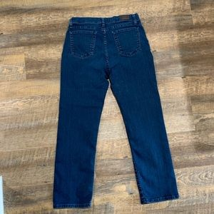 At the waist vintage mom jeans